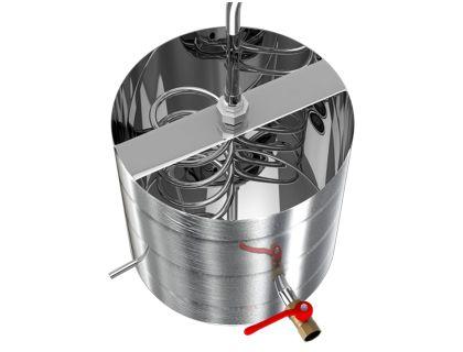 Холодильник на 20 литров со змеевиком Добрый жар Дачный без куба